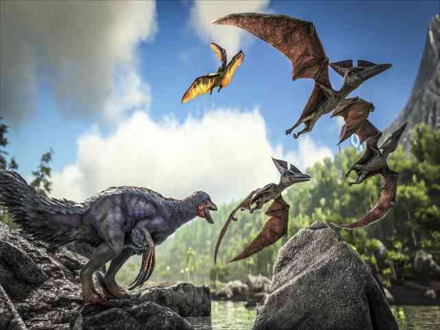 Download ARK Survival Evolved Game For PC
