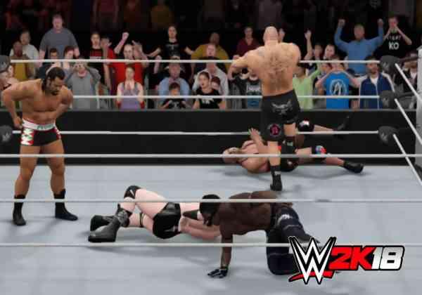 Download WWE 2K18 Highly Compressed