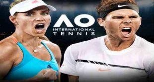 AO International Tennis PC Game Free Download